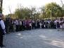 Požehnání nových krojů Dokopyjánku na vlachovských hodech 2011